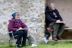 Outdoor Meeting at Hart Church July 2020