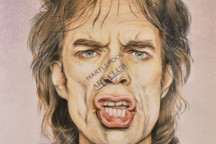 Mick Jagger by J K Wynn