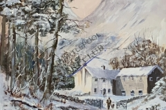 Winter Farm Near  Coniston by Rob Wilson