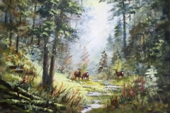 Watercolour by Rob Wilson
