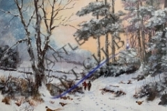 Winter Walk by Rob Wilson